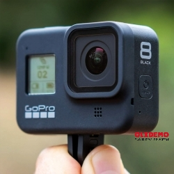 Hero Go Pro8 with case